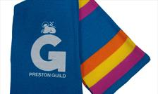 Promotional scarf Preston Guild